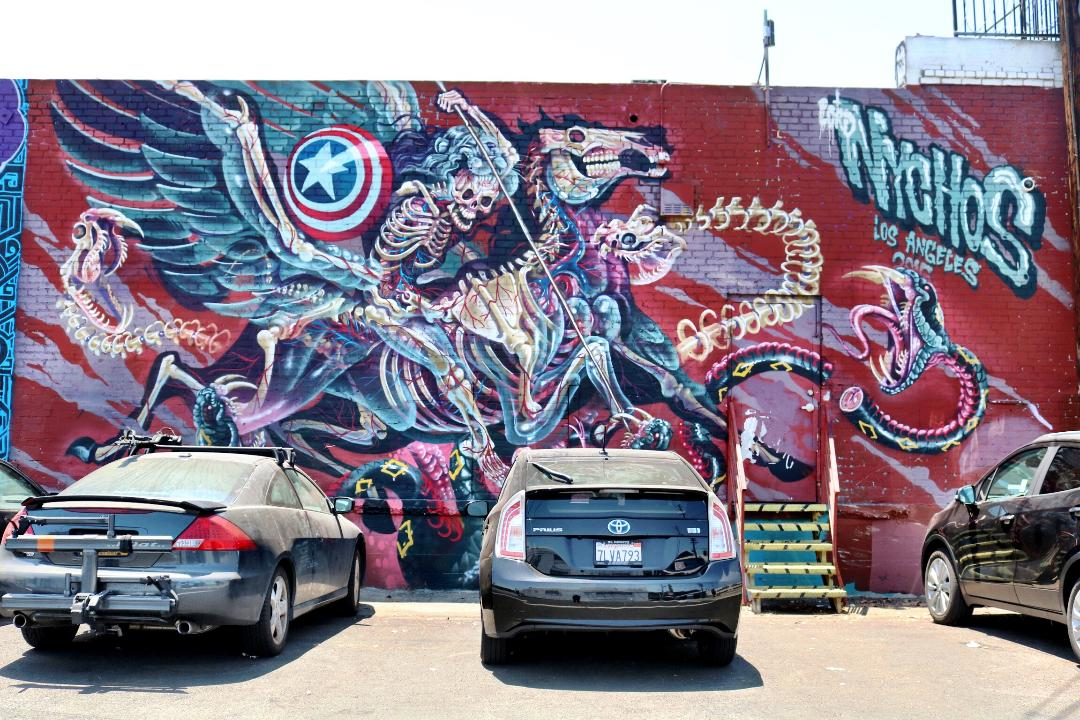 Montana Shop LA Parking Lot Mural | Montana Colors